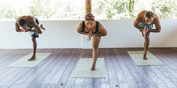 Surfasana founders hosting a surf and yoga retreat
